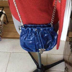Badgley Mischa cobalt blue crossbody